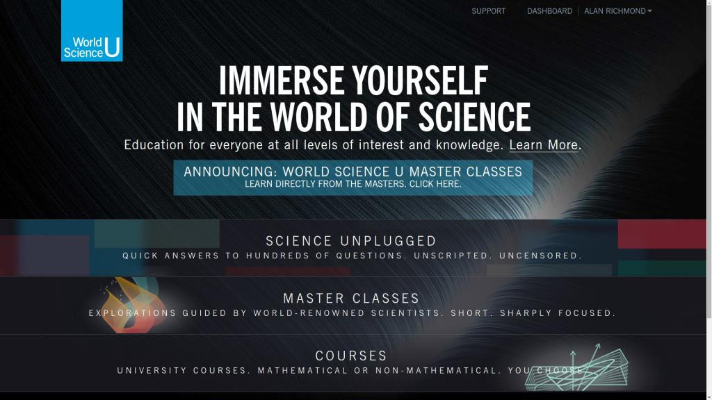 World Science U: Knowledge for Everyone